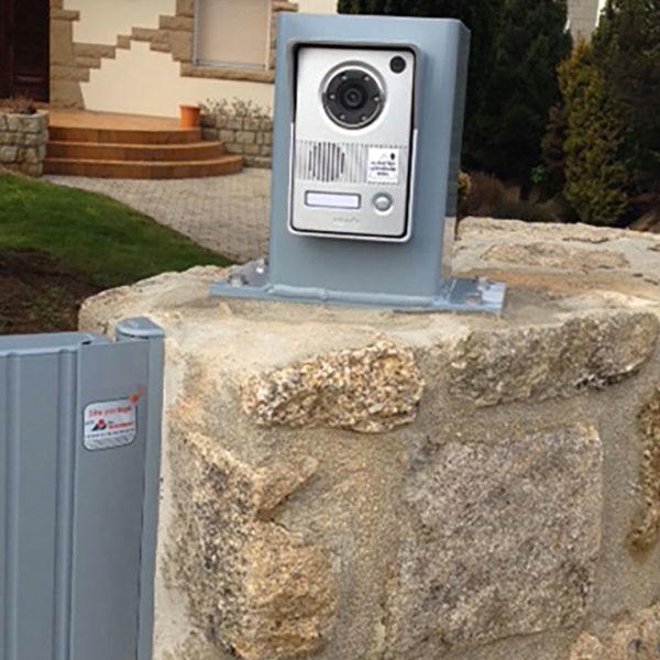 automatisme pour portail : caméra