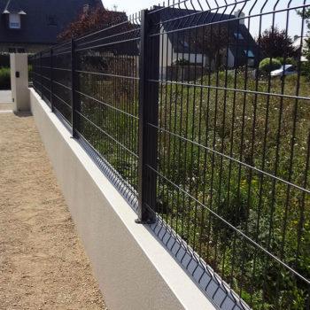 clôtures grillage noir