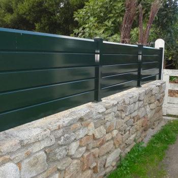 clôtures vertes