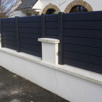 clôtures noires