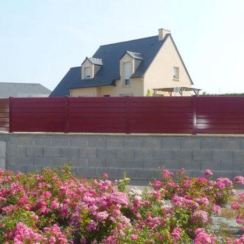 clôtures bordeaux