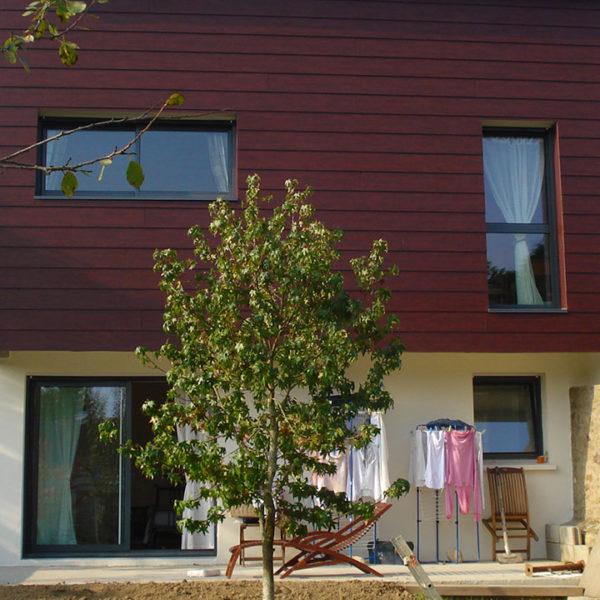 fenêtres aluminium horizontales et verticales