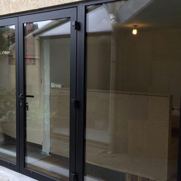 fenêtres et porte vitrée aluminium