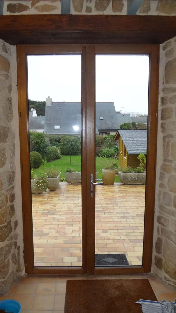 fenêtre mixte porte vitrée