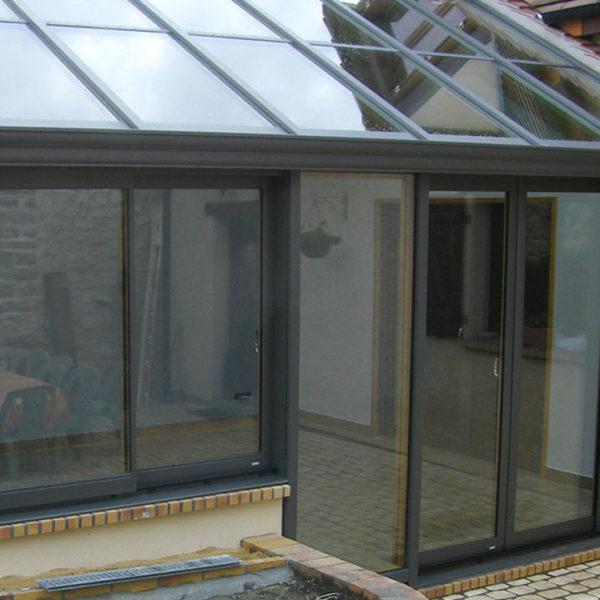 fenêtres mixtes murs et toit (extérieur)