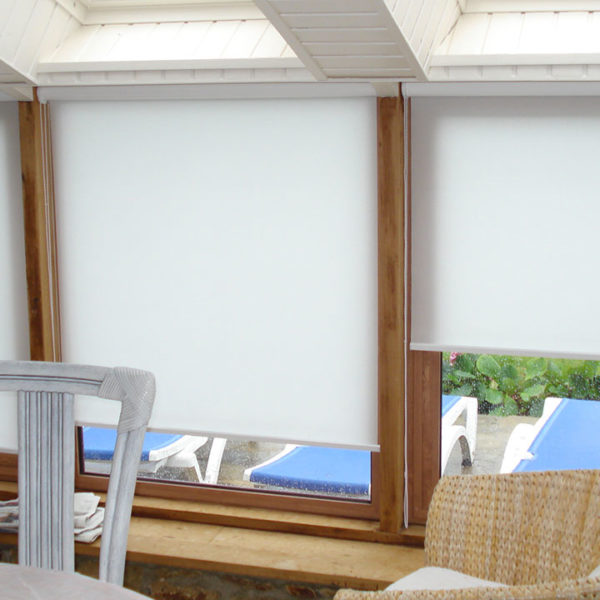 fenêtres mixtes avec stores