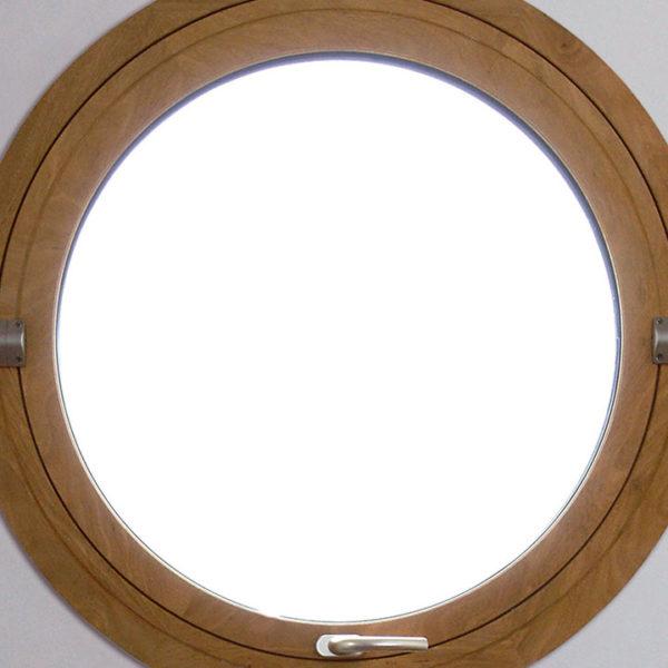 fenêtre mixte sous forme de hublot
