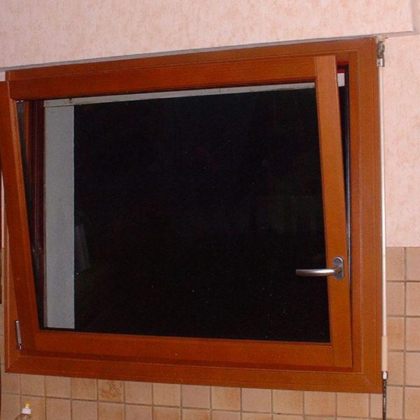 fenêtre mixte ouverte