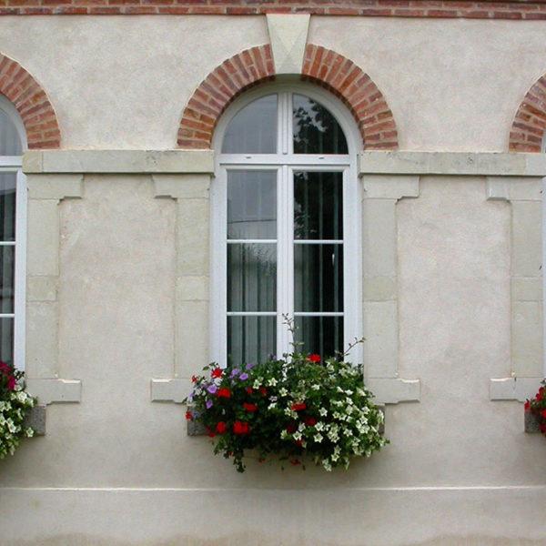 3 fenêtres en pvc