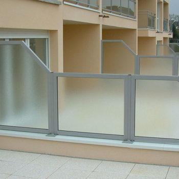 garde-corps terrasses d'immeuble
