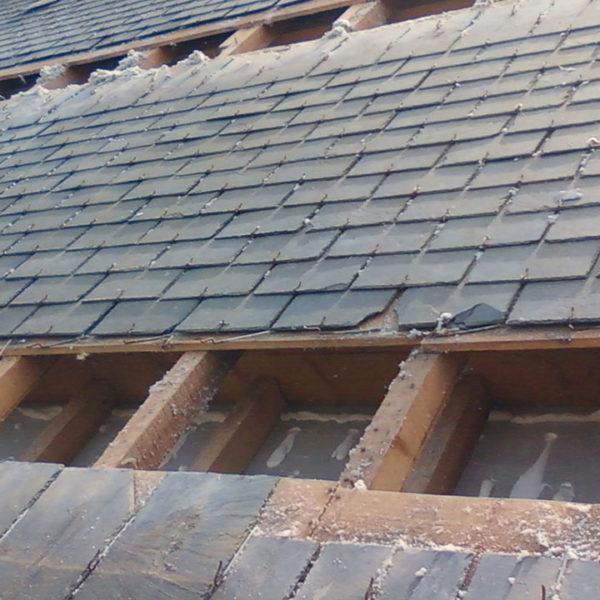 isolation toiture avant