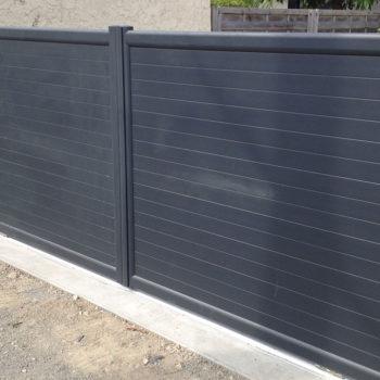 portail aluminium privilège noir