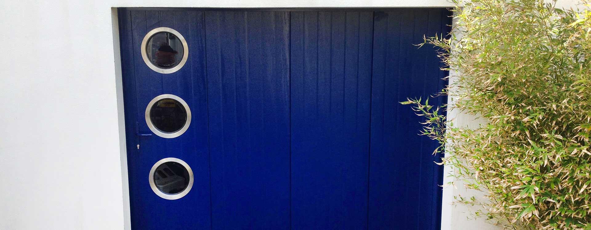 Portes de garage latérales
