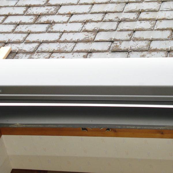 volets pour fenêtres de toit détail du coffre