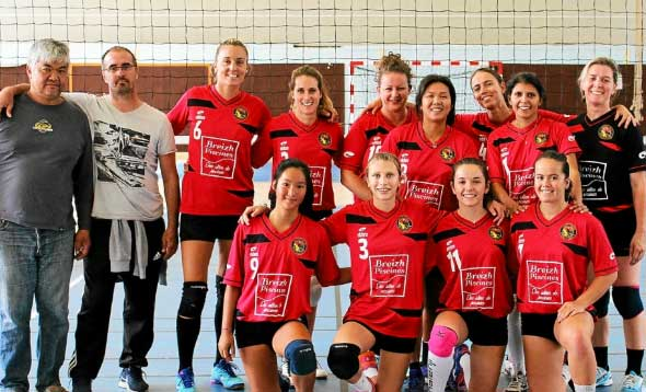 pays Auray volleyball
