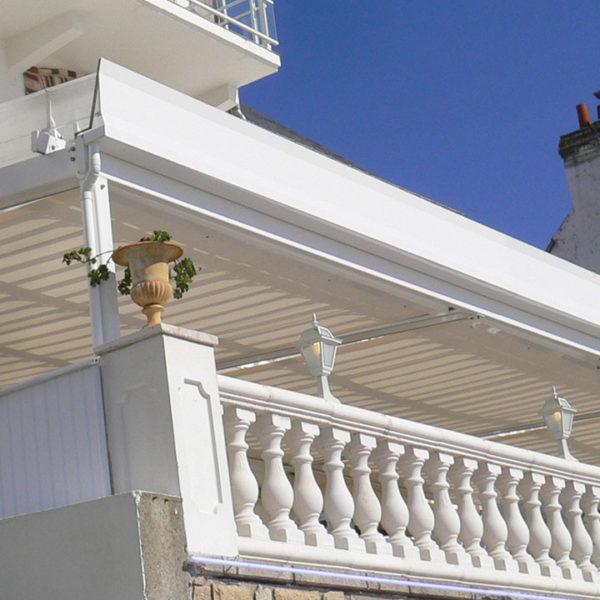 pergola toile balcon