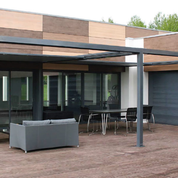 pergola en toile installation de pergolas toiles en bretagne. Black Bedroom Furniture Sets. Home Design Ideas