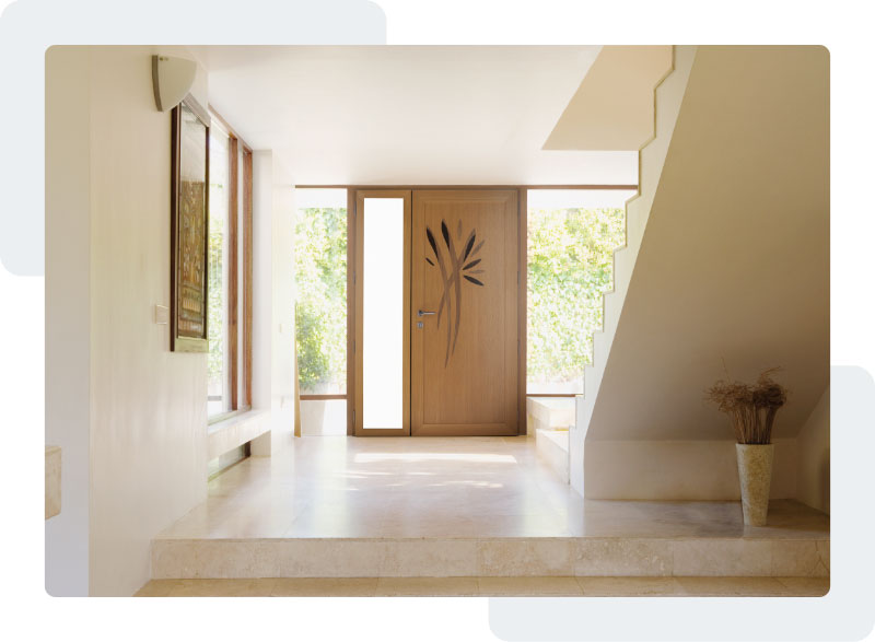 Des portes robustes et élégantes