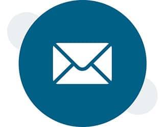icone envoyer un message