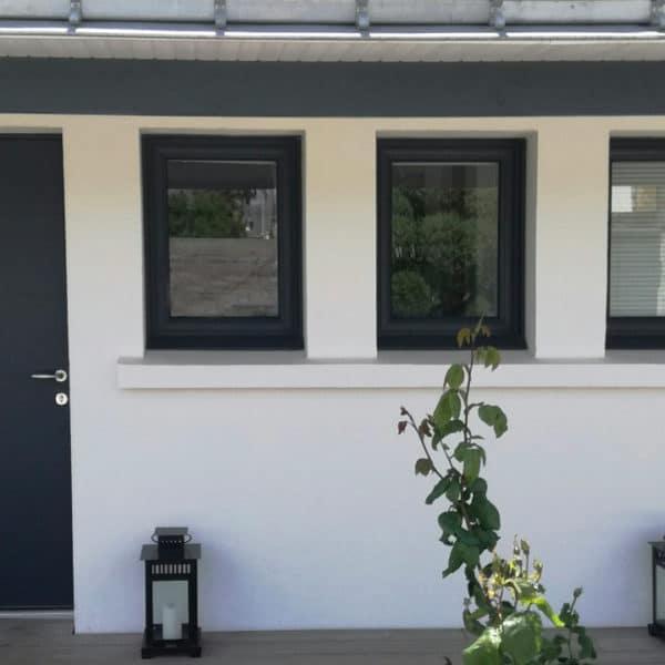 3 Fenêtres coloriance (+ 1 porte euradif)