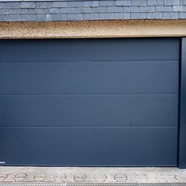 Porte de garage winsol avec portillon