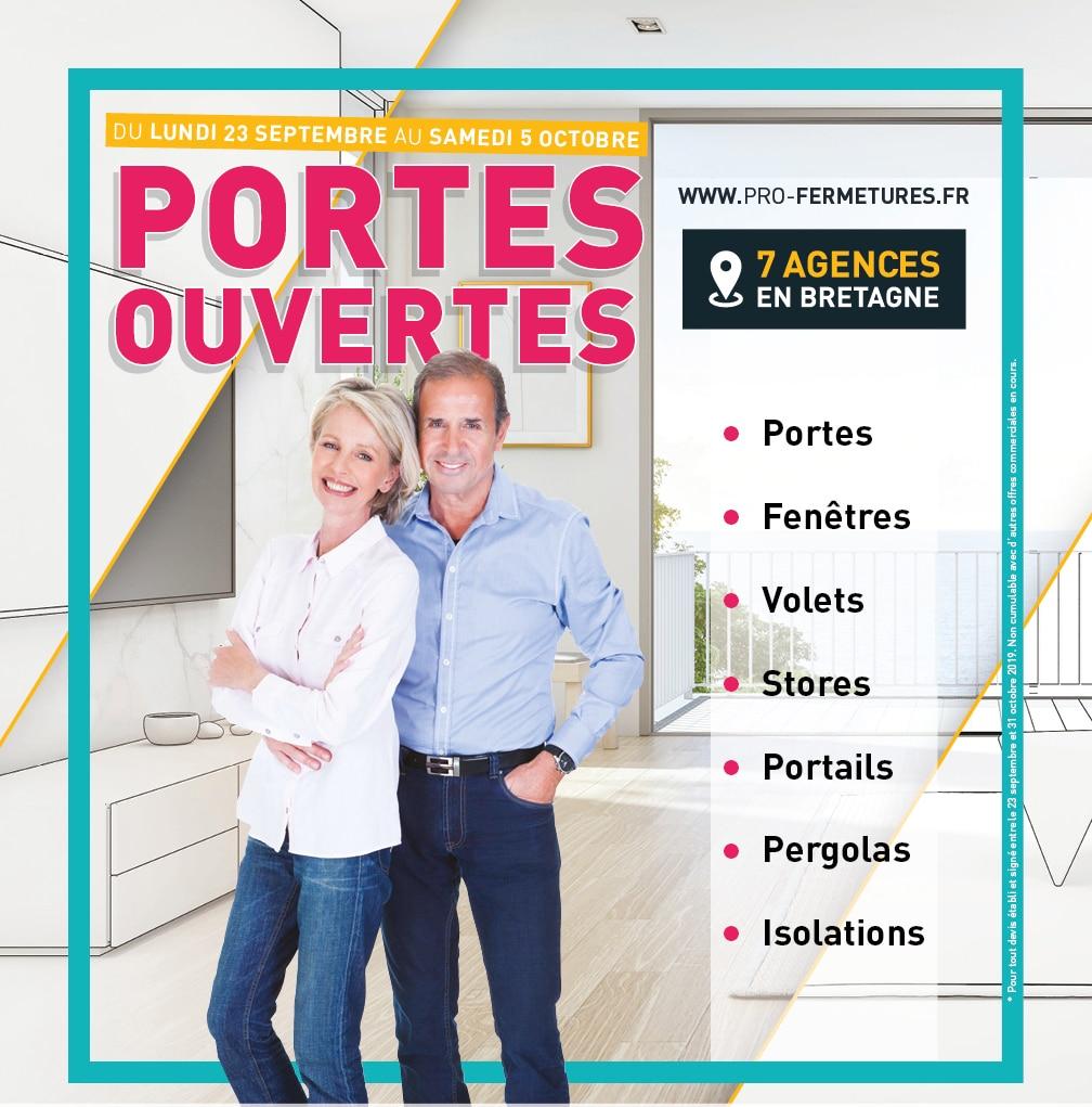 Flyer portes ouvertes / Pro-Fermetures