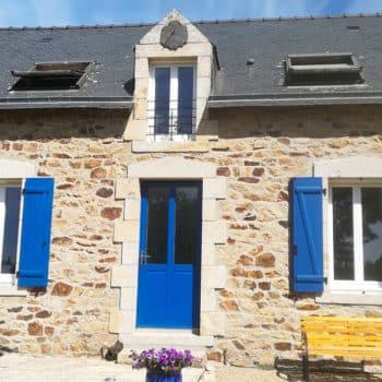 Porte ALF modèle Montaubry (+ Menuiseries PVC + Volets Ouest Fermetures)