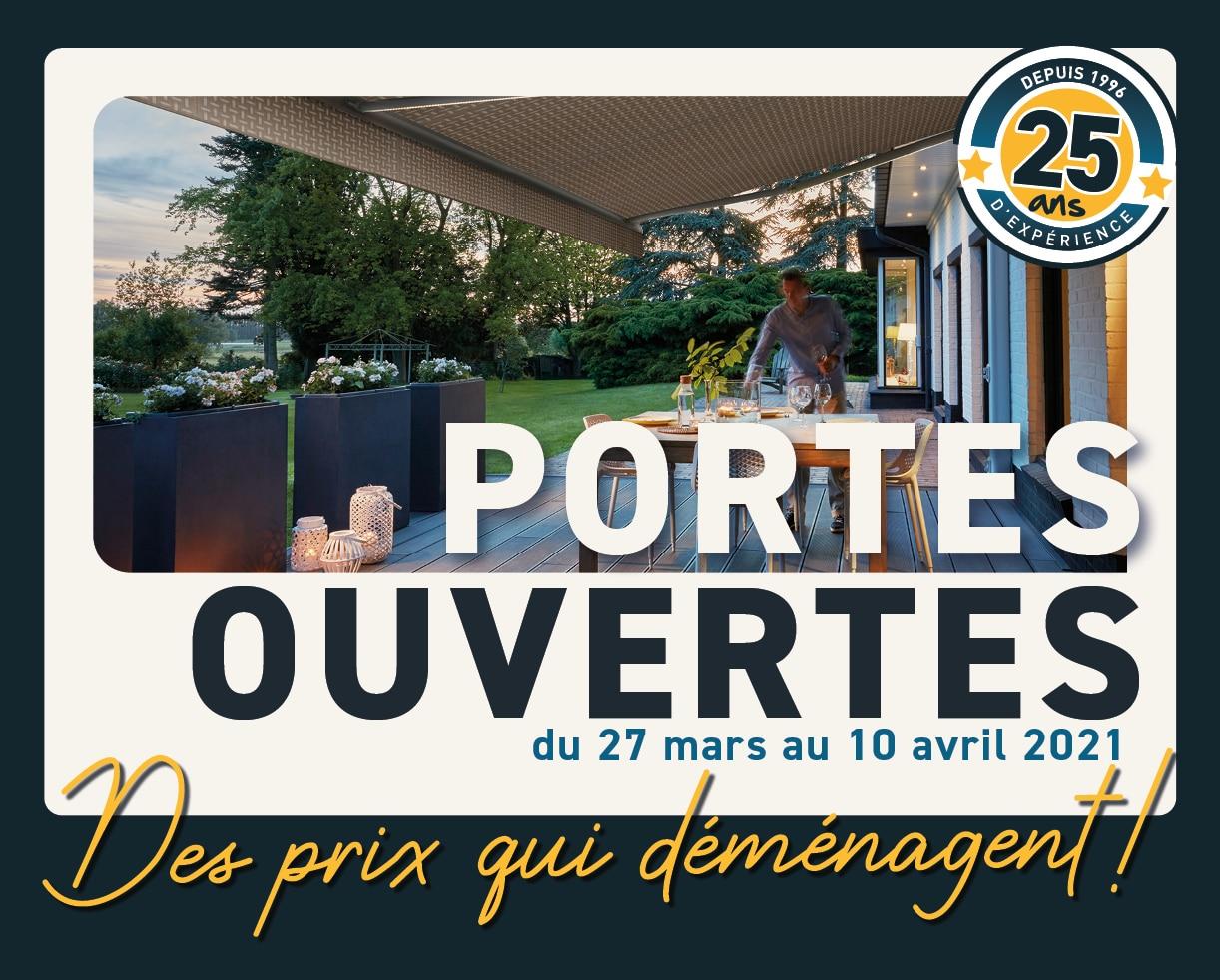 Portes ouvertes printemps 2021 / Pro-Fermetures